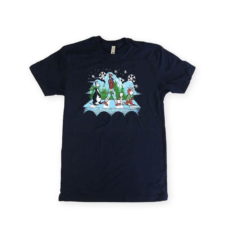 MN Abbey Road Winter T-Shirt
