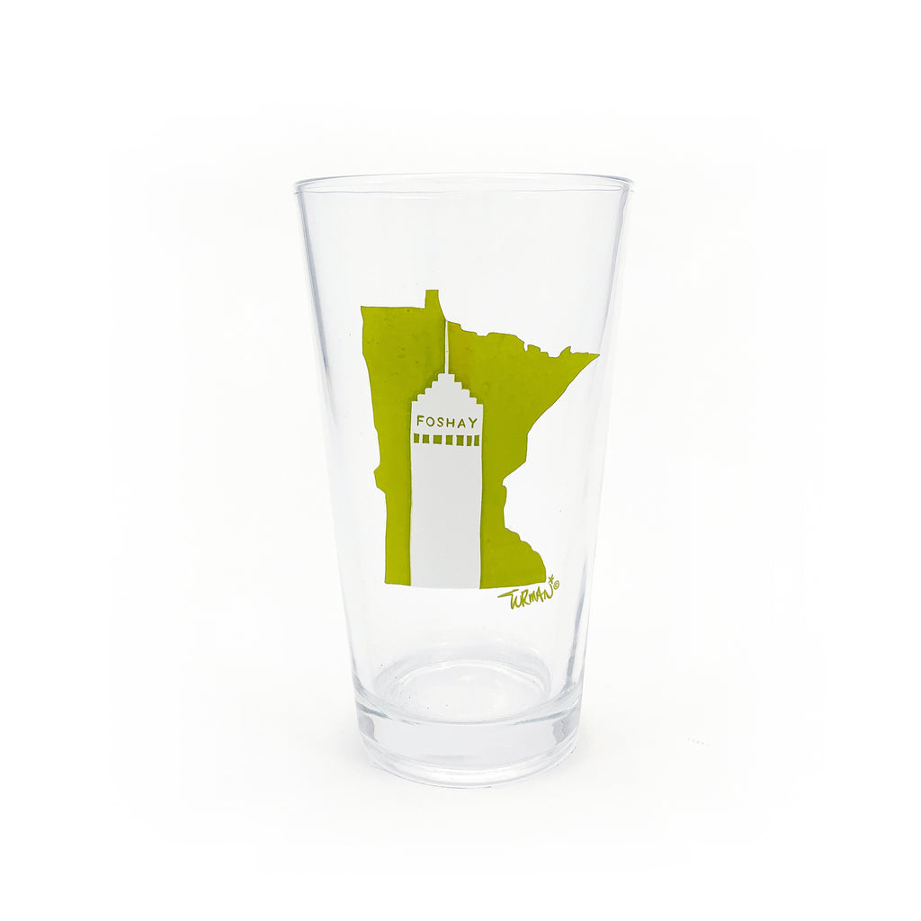MN Foshay Pint Glass
