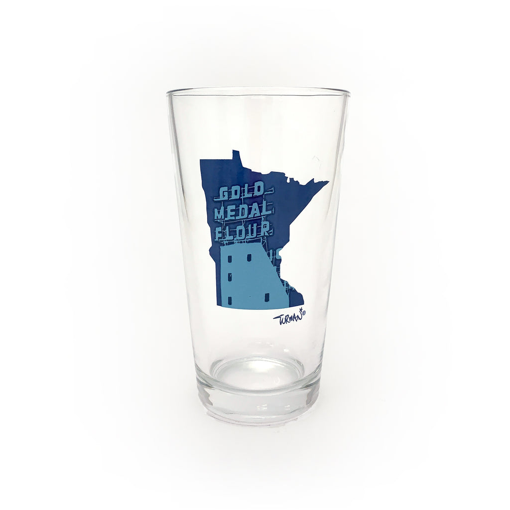 MN Gold Medal Pint Glass