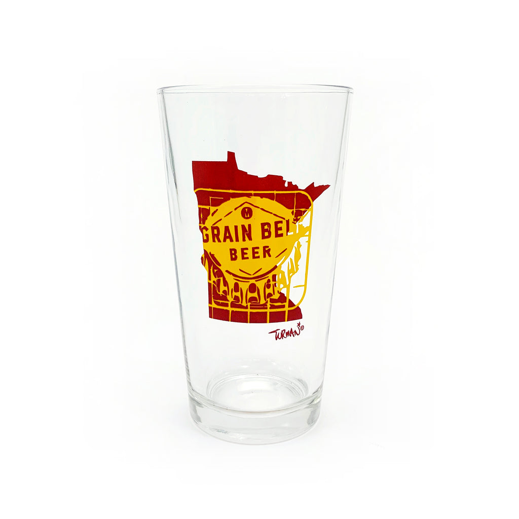 MN Grain Belt Pint Glass