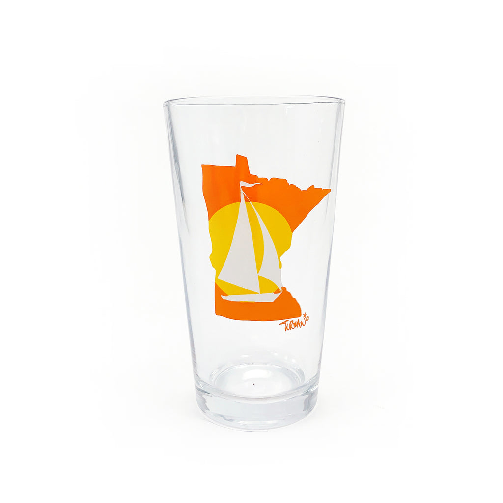 MN Sailboat Pint