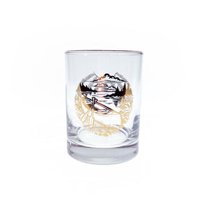 Canoe Whiskey Glass