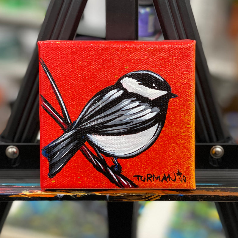 Chickadee (on Red)