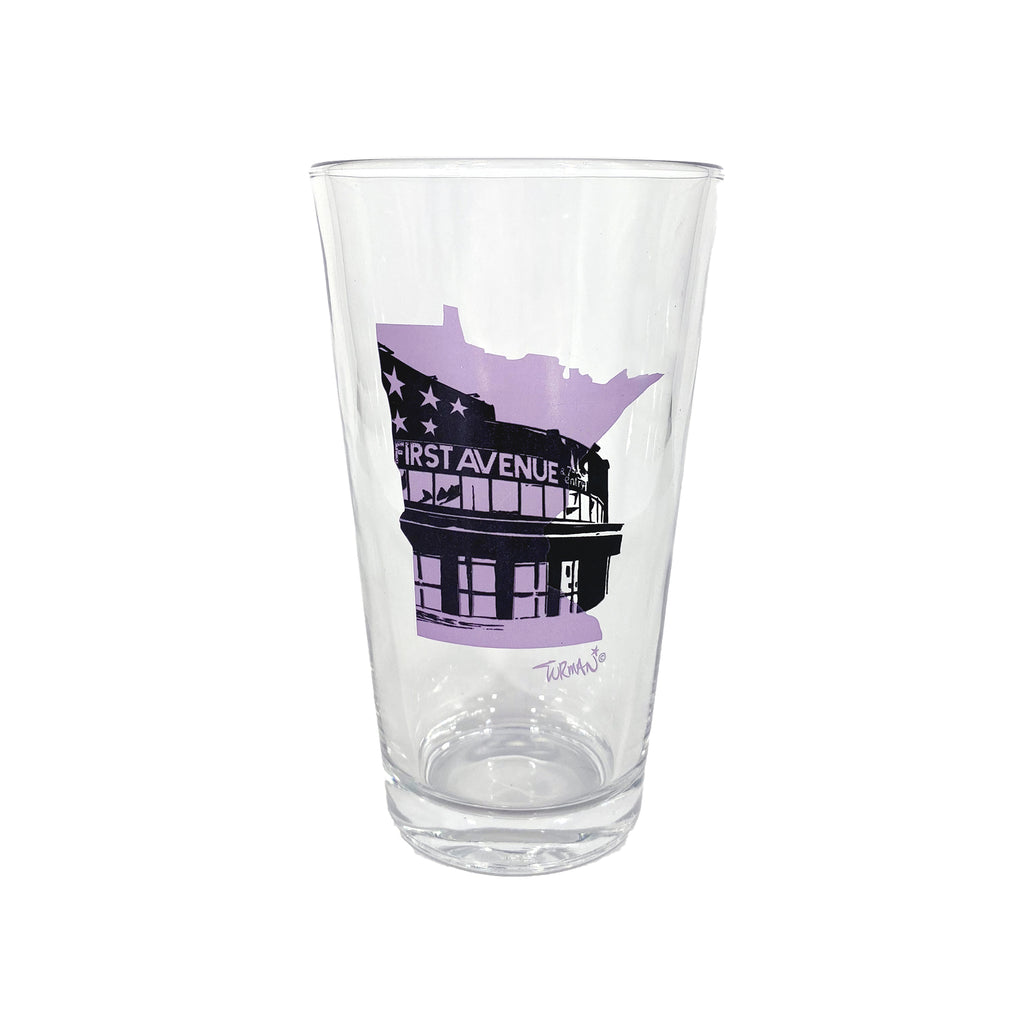 MN First Avenue Pint Glass