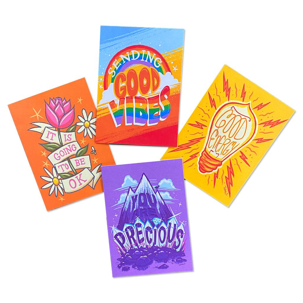 Good Vibes Boxed Notes