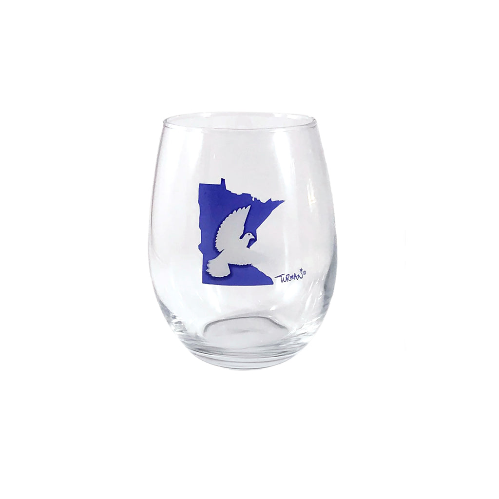 MN Dove Stemless Wine Glass