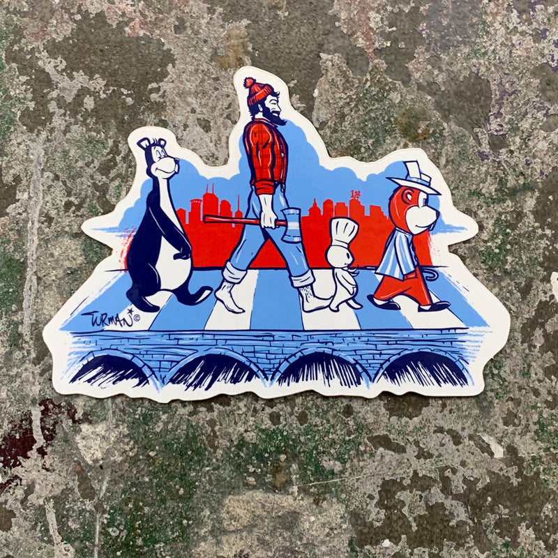 MN Abbey Road Sticker