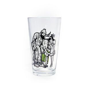 TGM-We're All in this Together Pint Glass
