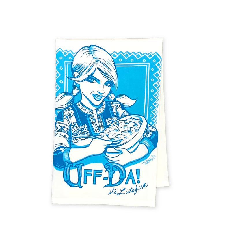 Uff-Da Tea Towel
