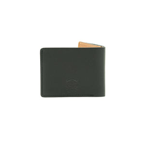 Turman x Leather Works MN Dad's Billfold - Black & Tan