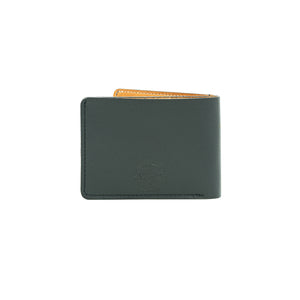 Turman x Leather Works MN No.9 Wallet - Black & Tan