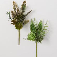 Load image into Gallery viewer, Succulent Fern Pick 14in