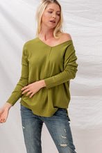 Load image into Gallery viewer, Plus Soft Tunic Sweater
