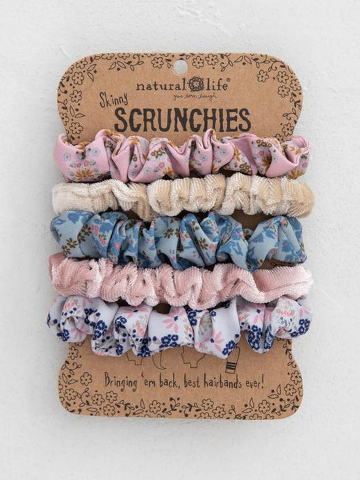 NL Scrunchies Set Of 5
