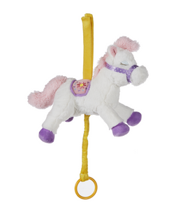 Cute Carousel Pony Musical Pulldown