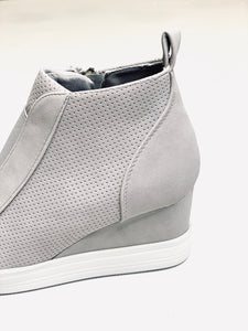 Wedge Sneakers Grey