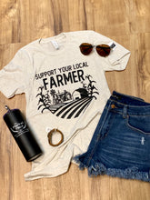 Load image into Gallery viewer, Support Your Local Farmer Tee