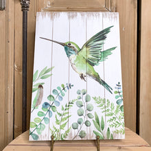 Load image into Gallery viewer, Hummingbird Wall Plaque