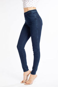 High Rise Non Distressed Kancan Jeggings