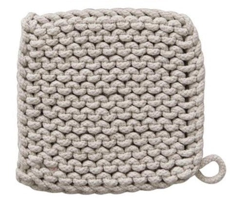 Cotton Crocheted Pot Holder 8