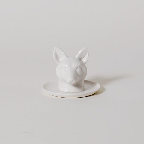 Fauna Series Fox Head Ring Holder