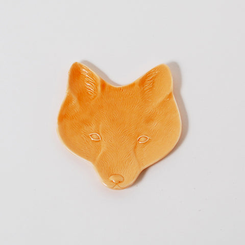 Wildlife Huddle Fox Head Ring Holder Dish