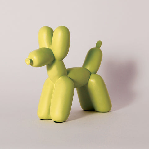imm Living | Stationery | Home Office Accessories | Bookends | Big Top Balloon Dog Bookend - Chartreuse