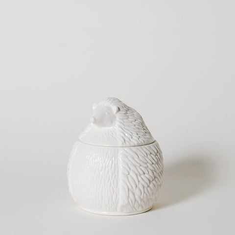 Comrade Hedgehog Ceramic Canister