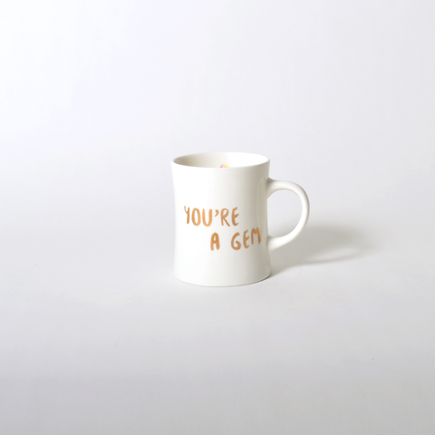 imm Living | Table Top | Tabletop Accessories | Mugs | Crystal Magic You're a Gem Illustrated Mug