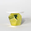 Candy Rock Yellow Crystal Cupcake Plate
