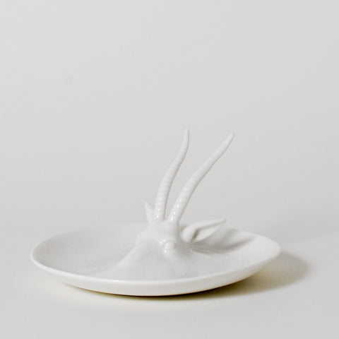 Emerging Wild Gazelle Ring Holder Dish
