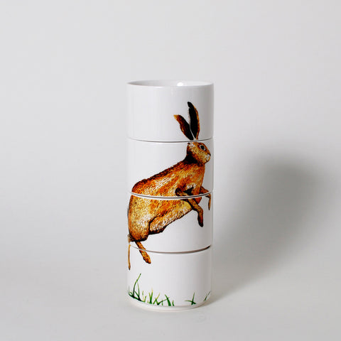 Forest Friends Rabbit Stacking Mugs
