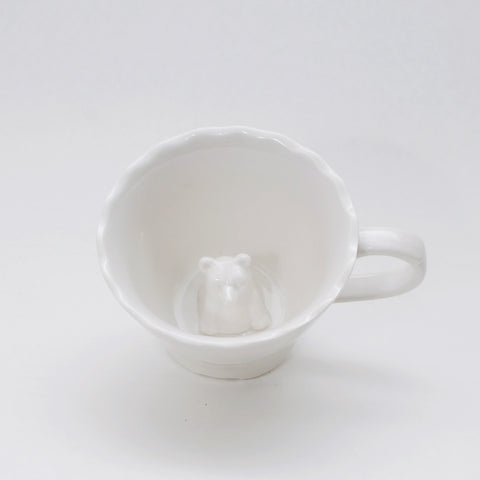 Hidden Animals Bear Mug