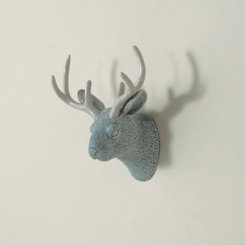 Jack D. Jackalope Wall Jewelry Holder - Glacier Blue