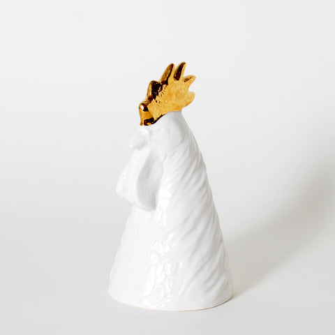 The King's Subjects Rooster Pencil Holder