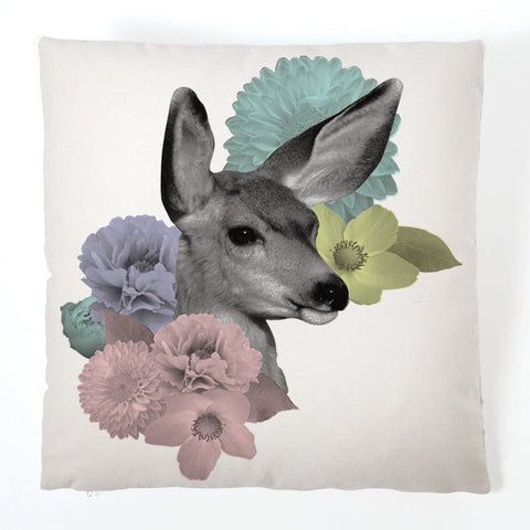 Pastel Pastiche Cushion - Doe