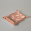 Pitter Pattern Canvas Collapsible Catchall - Pink & White