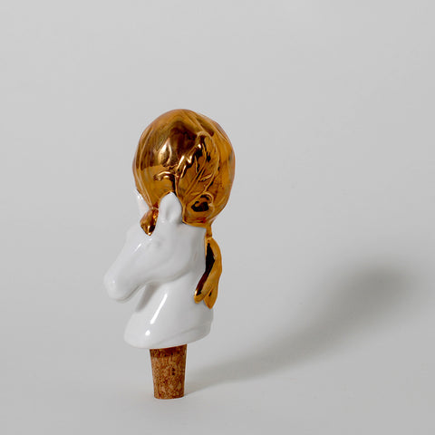 Pomp & Circumstance Horse Wine Stopper