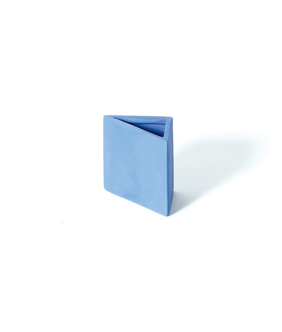 Hazel Blue Triangle Pencil Holder