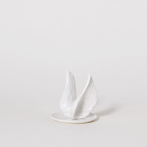 The Playful Swallows Wing Ring Holder