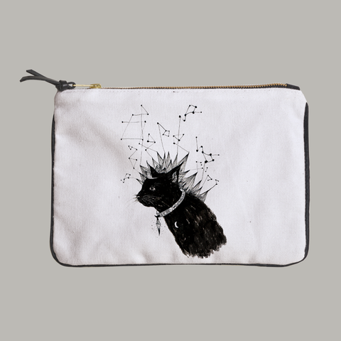 The Ancient Mystics Cat Constellation Pouch