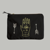 The Ancient Mystics Hand + Arrows Pouch
