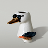 The Dancing Swans Single Head Ceramic Canister