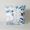 The Dancing Swans White Swan Cushion