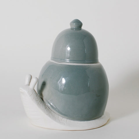 The Dwellers Snail Ceramic Canister