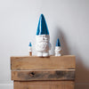 The Little Helpers Gnome Wine Stopper - Metallic Blue