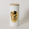 The Oracles Skull Ceramic Canister