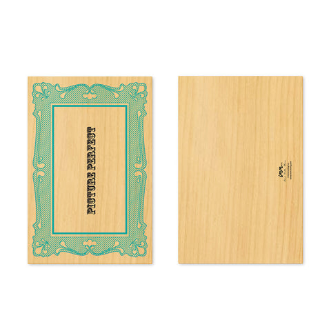 Woodwork Picture Perfect Frame Pop-Out Card