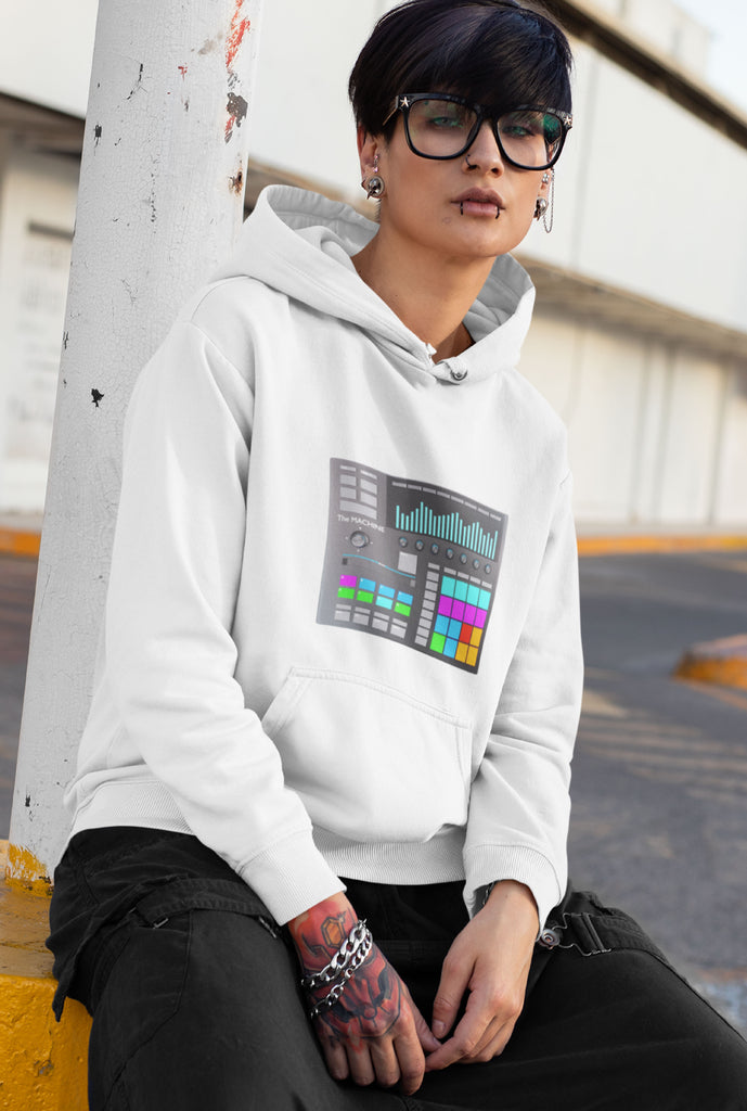 Women's Beat Machine Hoodie - The World of T's
