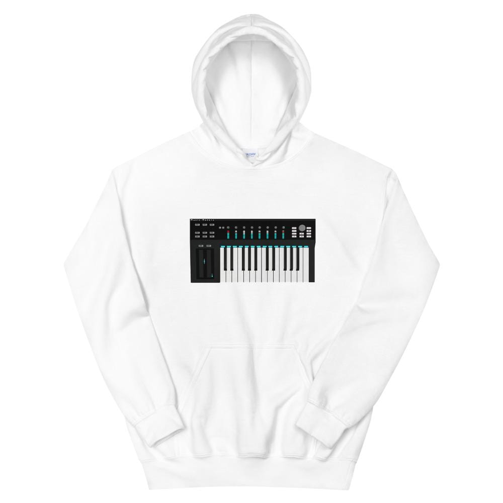 The World of T's Hoodie White / S Midi Controller Hoodie
